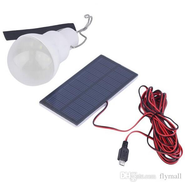 0.8W / 5V المحمولة بالطاقة الشمسية بقيادة مصباح المصباح لوحة شمسية قابلة للتطبيق في الهواء الطلق الإضاءة معسكر خيمة مصباح الصيد حديقة ضوء المصابيح القابلة لإعادة الشحن
