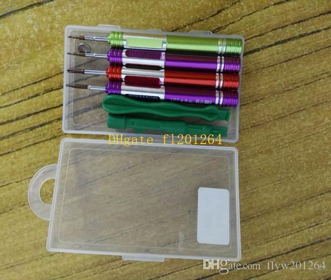 Бесплатная доставка высокое качество 8 в 1 комплект Отвертка Отвертка открыть ремонт инструмент для iPhone 7 7 Plus с пакетом