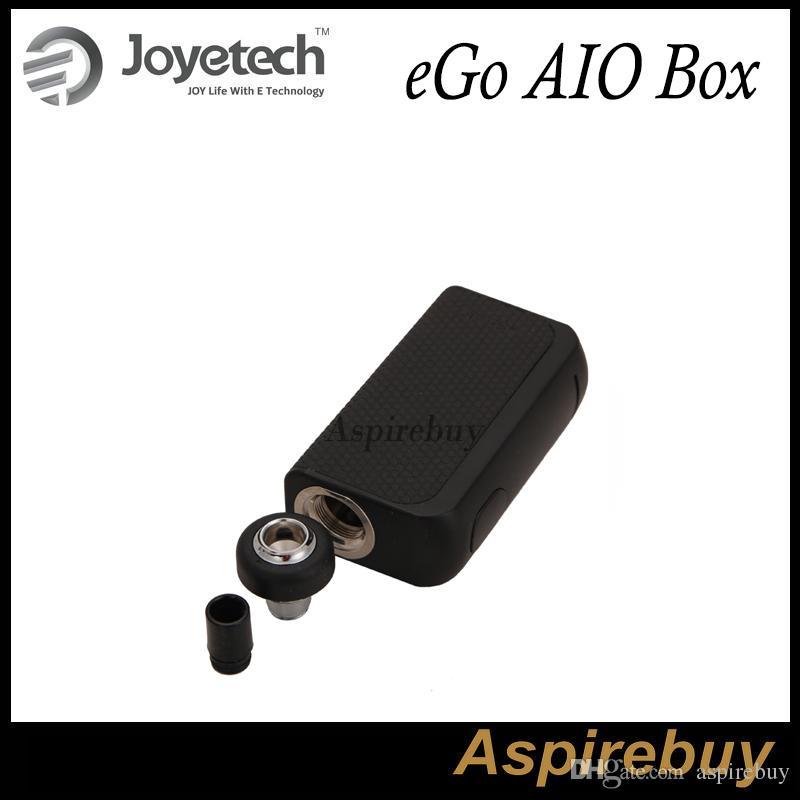 Joyetech eGo AIO Box All-in-one Starter Kit 2100mAh Batería con capacidad de 2ML Ajuste de bloqueo infantil Influjo de aire Pegatinas multicolores originales