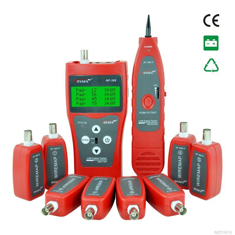 Noyafa Nf 388 Network Coax Cable Tester Handheld Cable Tester ...