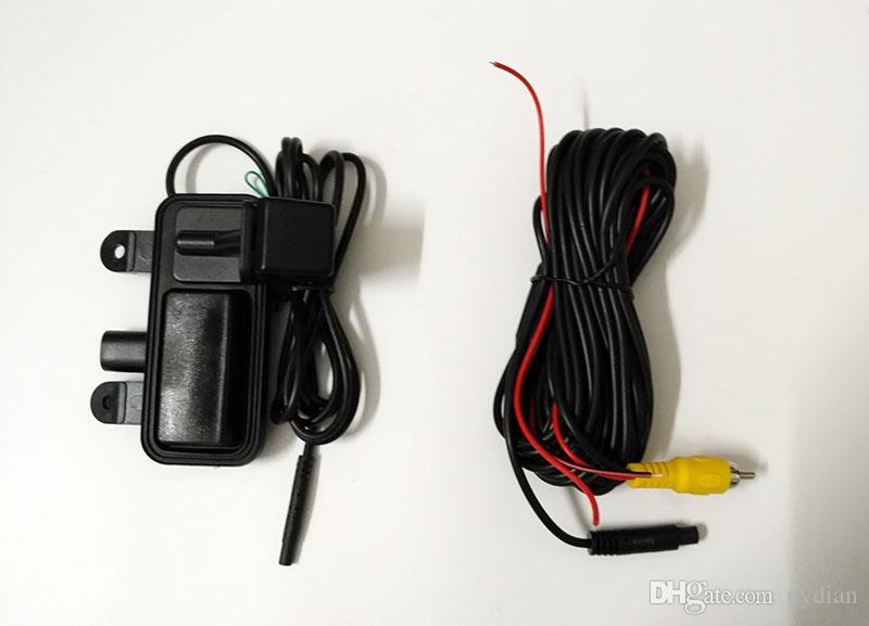 Special Trunk Switch Back Door Handle Camera CCD Car Rear View Camera For Benz E W212 C207 W207 E200 E260 E300