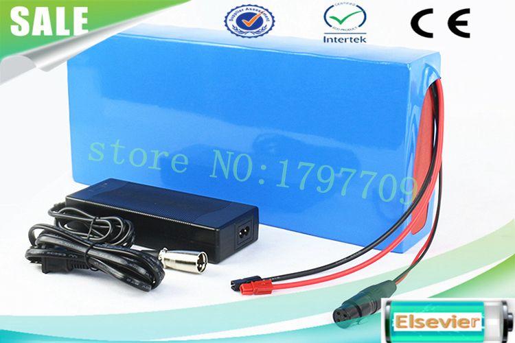 EU US Senza tasse Spedizione gratuita 24V 12Ah bici elettrica Batteria Li-ion con custodia in PVC + caricatore BMS +