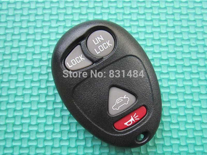 3 +1 Button No Chip Blank Remote CAR Key Shell Case Cover For Buick