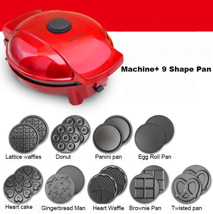 Rosquillas 220v De Hacer Waffles Huevo Máquina Home Wafles Mini Para Fabricante Moldes Waffle Cone Maker Molde dCxrBoe