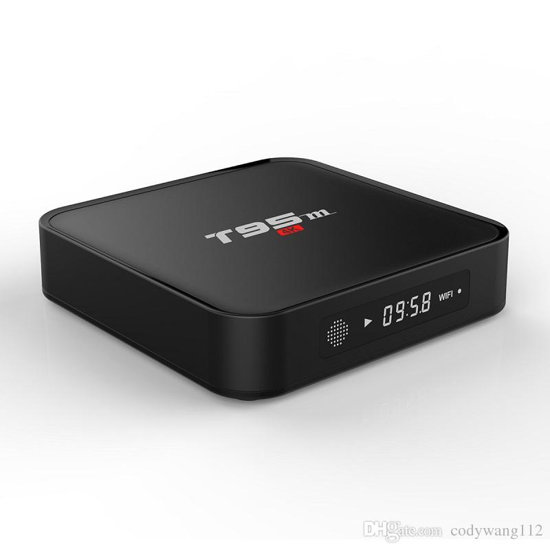 T95M 2GB 8GB tv box Amlogic S905X 2.4GHz WIFI Android 6.0 Quad Core VS MXQ PRO