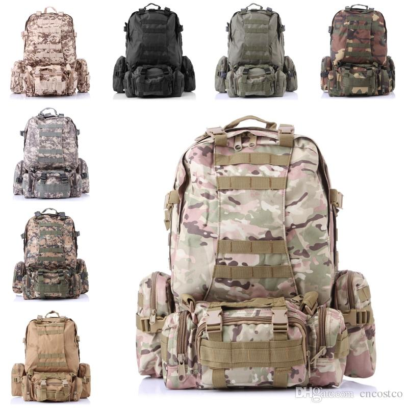 3D Combination Backpack Camo Large Capacity Backpack Outdoor ... 4b75b0e8ed72c
