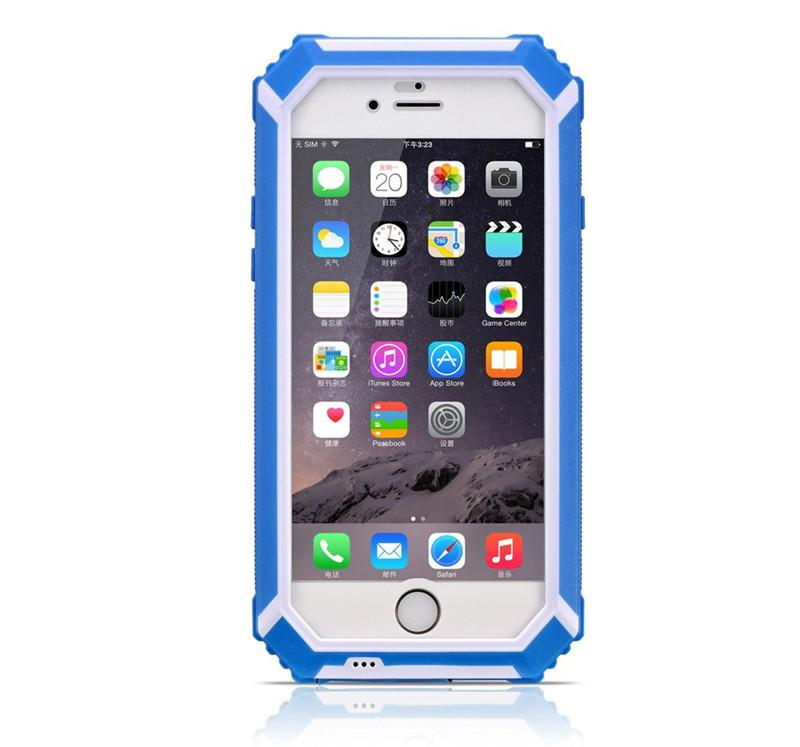 BOLISH New Waterproof For iphone 6 6S 6plus Case dustproof, IP6 shockproof Hard Phone Fitted Case Cover for iphone6 6S plus DHL SCA123