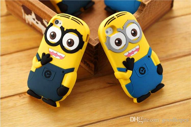 3D Soft Silicone Rubber Case For iphone 4s 5s se 6 6s plus 8 7 plus samsung s7 s7 edge s6 s6 edge note 5