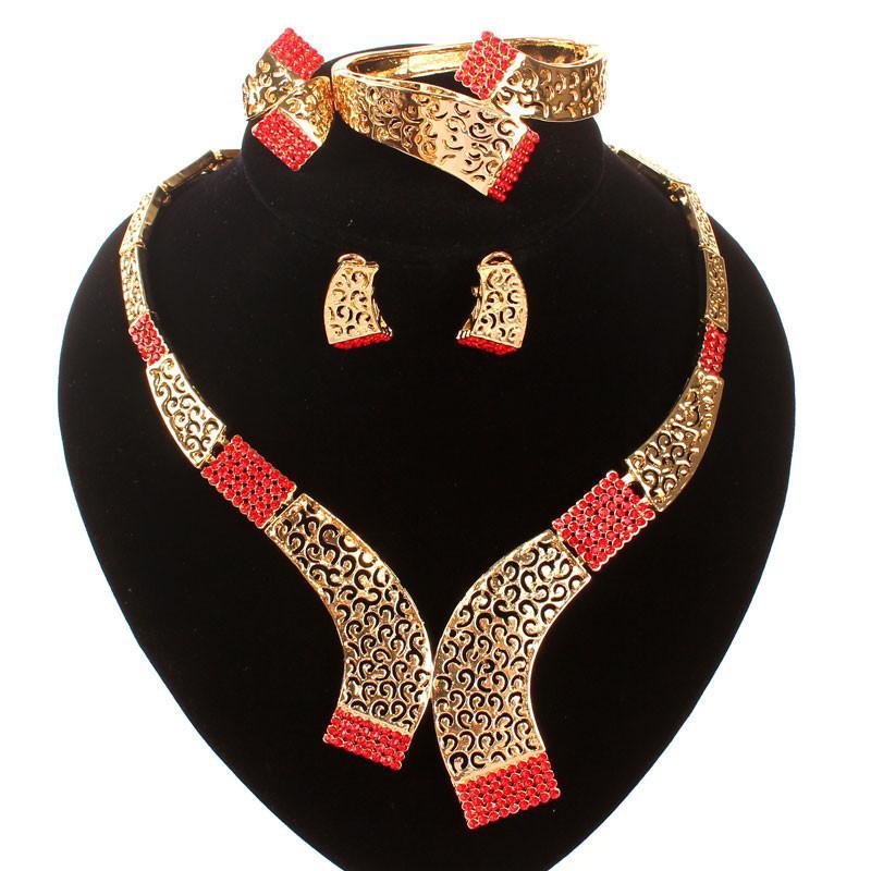 6 cores conjuntos de jóias indianas jóias brincos africanos jóias set declaração colar brincos colar para mulheres vendas exclusivos