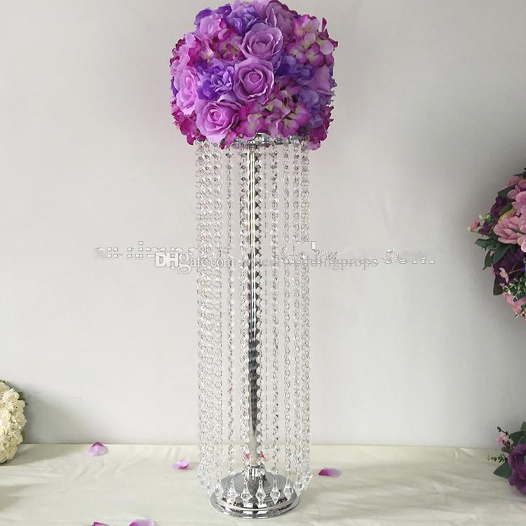 Popular Luxury Wedding Centerpiece Vases Sliver