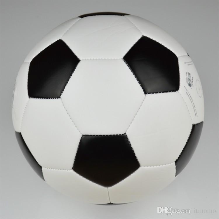 Satın Al 2014 Yepyeni Siyah Ve Beyaz Futbol Topu Futbol Size5