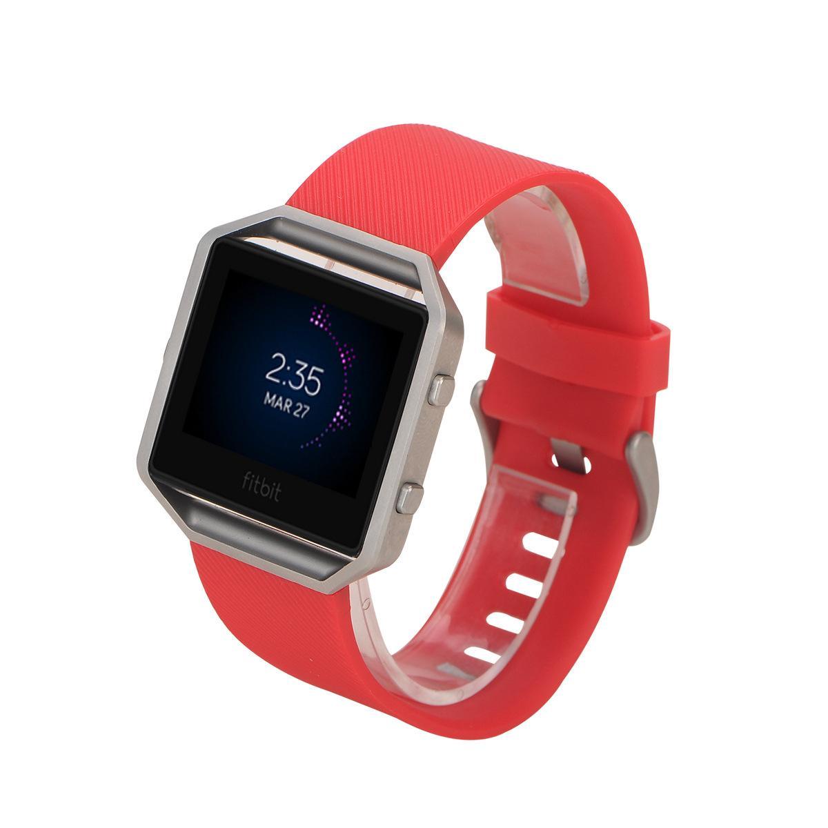 Cinturino in silicone più economico Fitbit Blaze Smart Fitness cinturino cinturino a sgancio rapido Loop cinturino da polso Bracciale