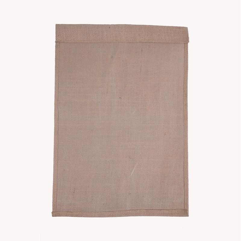 Appeso FAI DA TE bandiere in lino Fairy Garden Flag 12