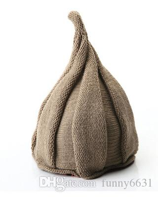 winter crochet caps Lovely hat knitting twisting, flowers workmanship girl fashion hat kids stingy brim hats purple/creamy-white top qualit