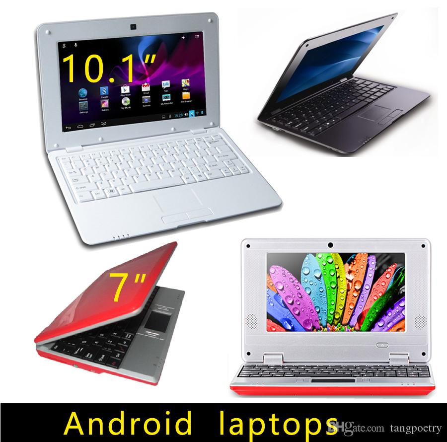7 inch 10.1 inch Mini laptop VIA8880 Netbook Android laptops VIA8880 Dual Core Cortex A9 1.5Ghz 4GB 8GB Netbook