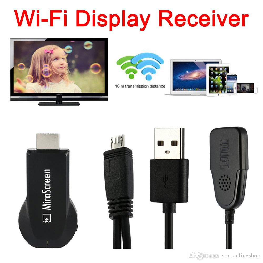 Mirascreen Ota Tv Stick Dongle Better Than Ezcast Easycast Wi Fi Latest V5ii Wifi Display Receiver Dlna Airplay Miracast Airmirroring Chromecast Dhl Anycast Hdmi