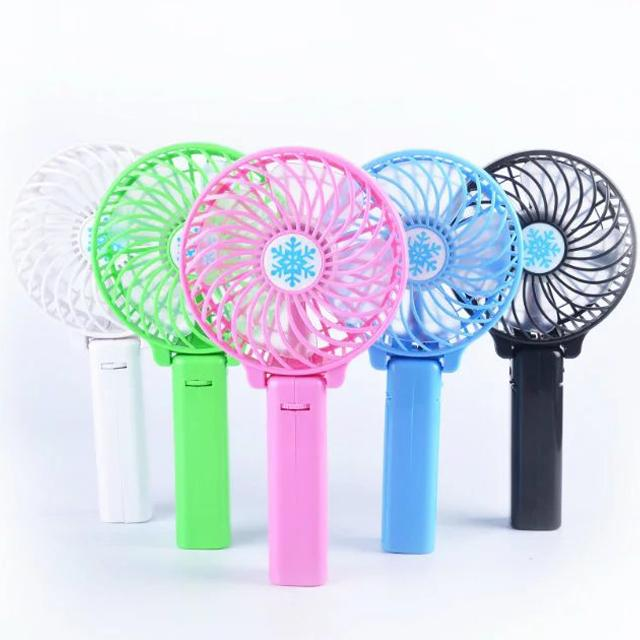 2016 Hot Selling Foldable Hand Fans Battery Operated