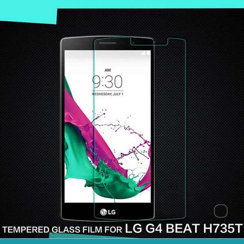 Película transparente a prueba de explosiones del cristal templado transparente del protector de la pantalla del LCD para LG G G2 G3 G4 G4S