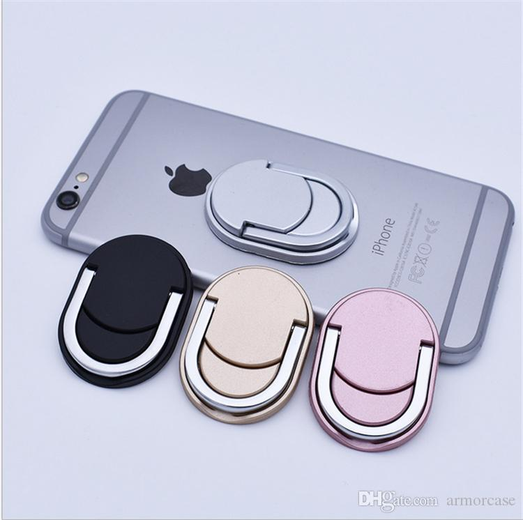 Metal Ring Phone Holder Multifunction Stand Cell Phone Holders Boot Disk Ring Fashion Bracket for iPhone 8 7 samsung note 8 s8 tablet PC New