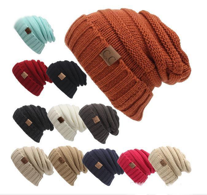 281b51d0dea84 2017 New Men Women Hat CC Trendy Warm Oversized Chunky Soft ...
