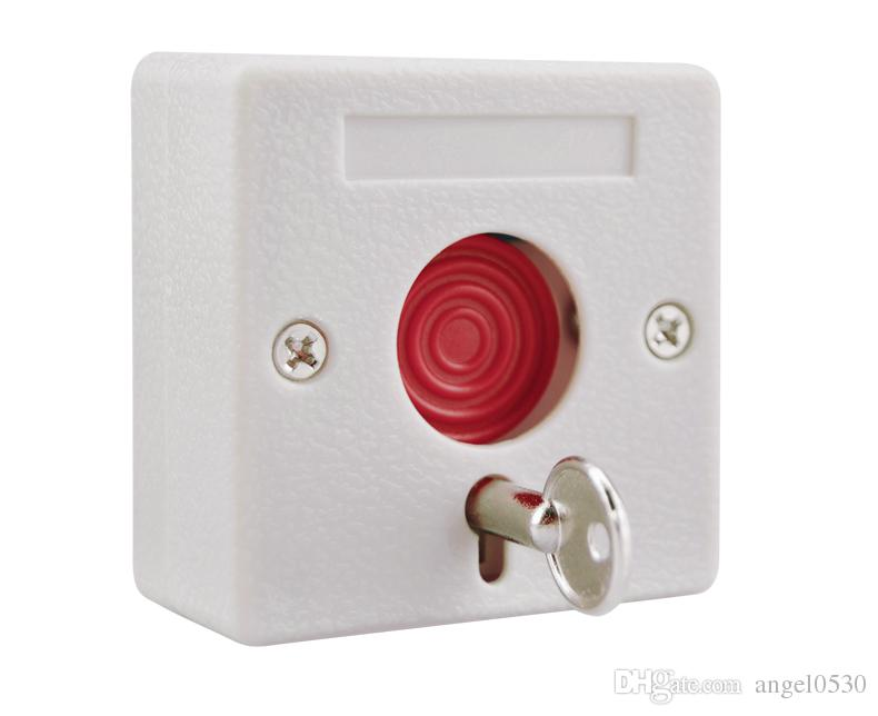Small Alarm NC/NO Options Panic Button Plastic Switch Use for Alarm ...