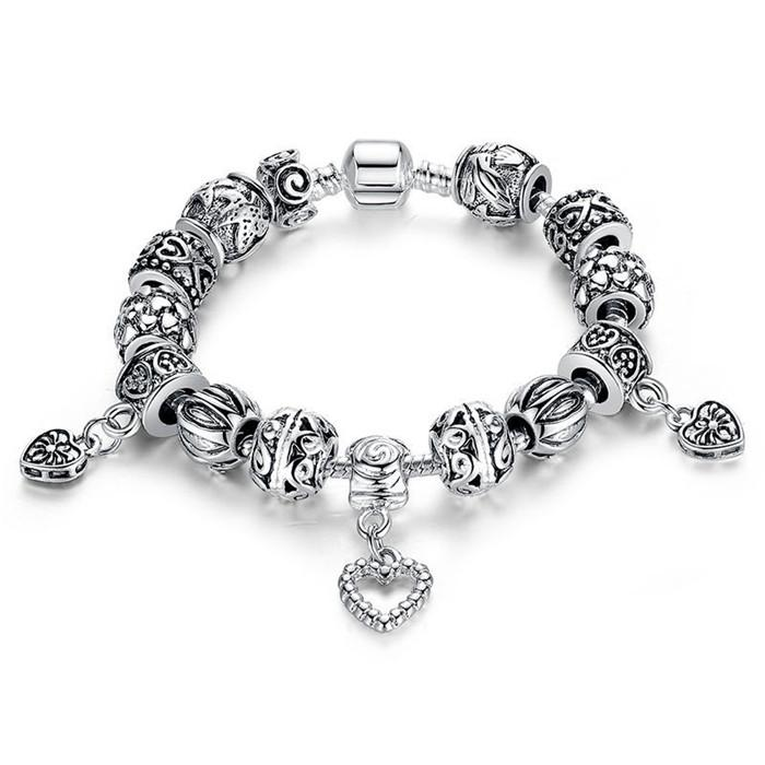 jewelry large accessories silver collections store egrabber products bracelet new breast handmade charm awareness cancer