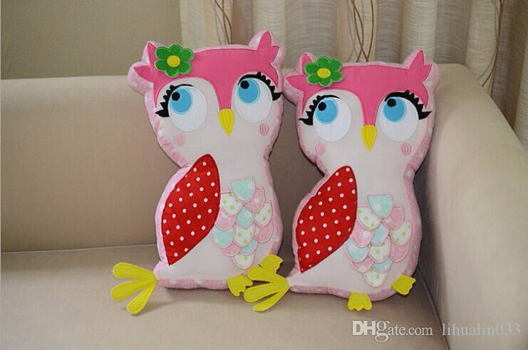 Wholesale Special New Stereo Cartoon Cushion Lovely Children's Room Decorative Cushions Kid's Toy Pillows