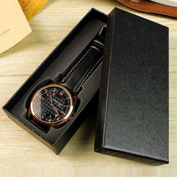 Long Paragraph Watch Box Custom Logo Table Box Watch Gift Box ...
