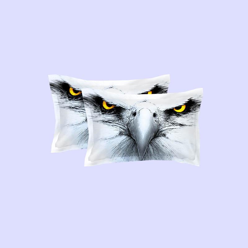 Venta caliente de América Águila Águila Juegos de cama de Impresión Doble Completa Queen King Size Tela Algodón Fundas Nórdicas Conjunto de Fundas de Almohada Fundas Consolador Búho Animal