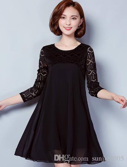 maternity dress summer spring solid long sleeve dress Breast feeding dresses Nursing clothes Pregnant Women maternity clothes