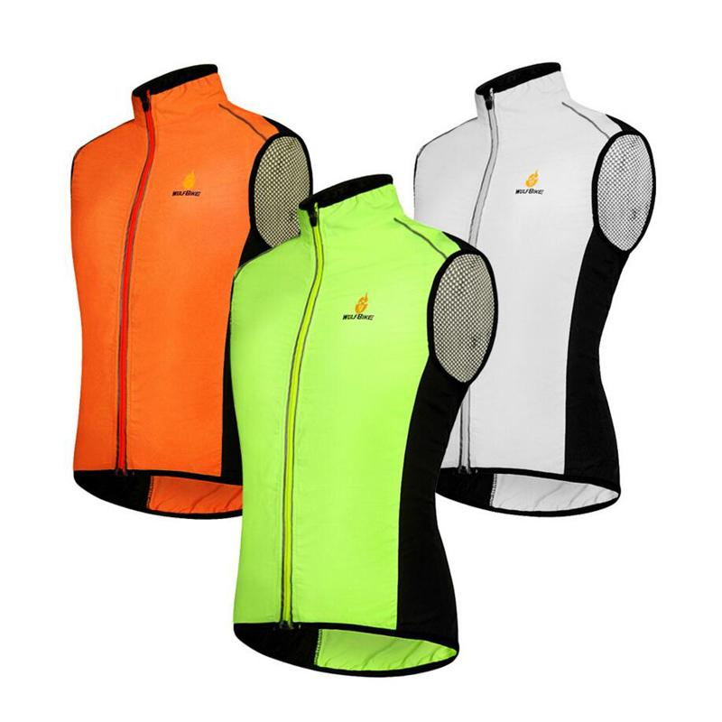 New Reflective Men Cycling Vest Coat Breathable Sleeveless Jacket Sport  Outerwear Coats Windproof Waterproof Clothes K2016 High Quality Jacket  Terry China ... 8e772a77e