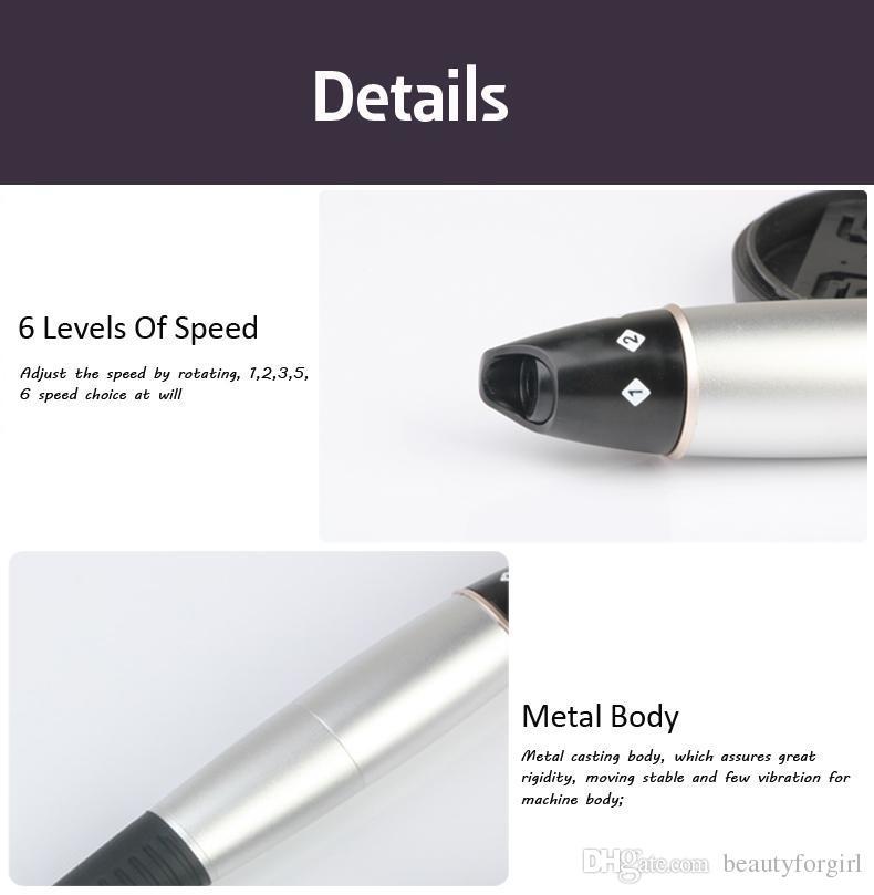 Sistema automático de la terapia de Microneedle del PDA Pen Dermapen eléctrico automático de Derma Pen para el salón y el uso en el hogar