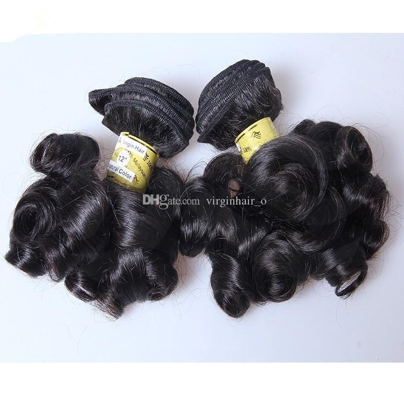 9A Beauty Aunty Funmi Hair Bouncy Curls Unprocessed Peruvian Virgin Hair Fumi Hair Bundles Nigerian weaves Romance Curl Remy Hair Extensions