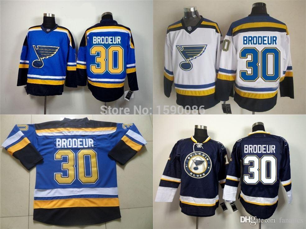 2019 2016 Martin Brodeur St Louis Blues Jerseys Martin Brodeur