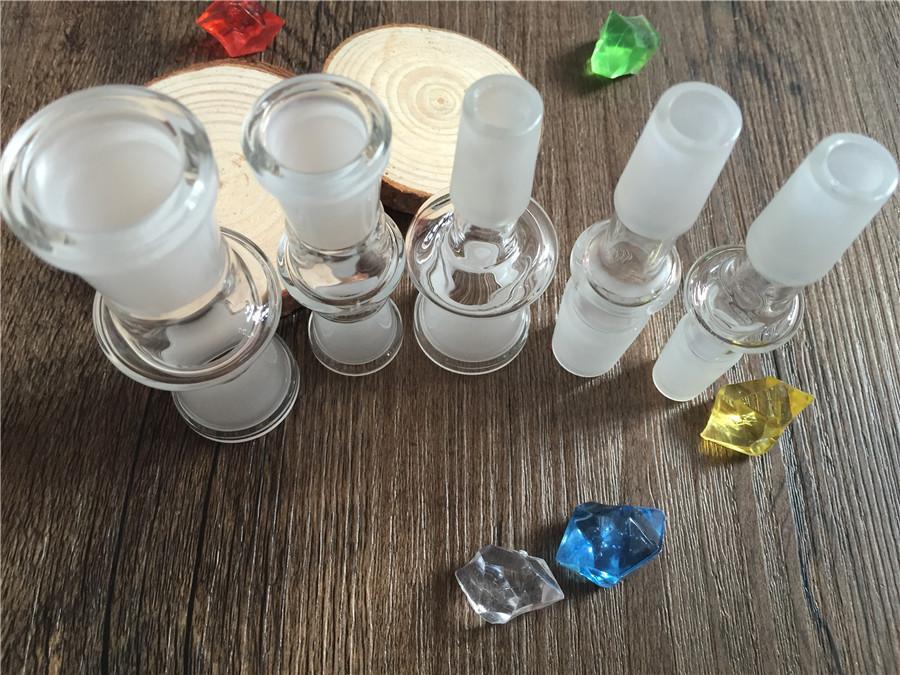 유리 어댑터 14.4 18.8 남성 관절 14mm 18mm 여성 남성 컨버터 유리 어댑터 흡연 공동에 대 한 접합