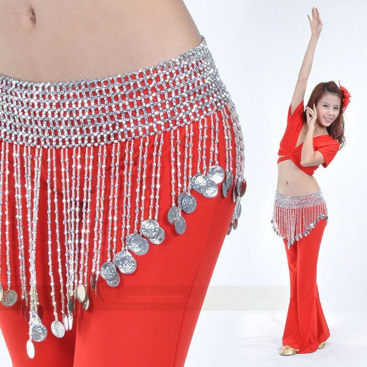 2017 New Style Beautiful Danse Du Ventre Belly Dance dancing Waist Chain Women Hip Scarf BellyDance Belt Belly Chain Indian Belt