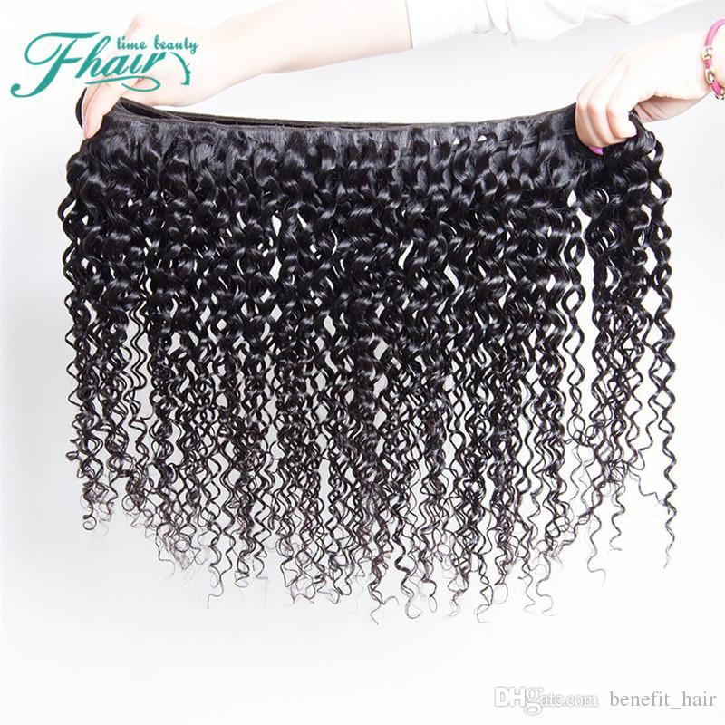 3 Bundles 100g / pcs Deep Wave 9A Cheveux Malaisiens Armure Pas Cher Profondes Ondes Profondes Extensions de Cheveux Humains 10