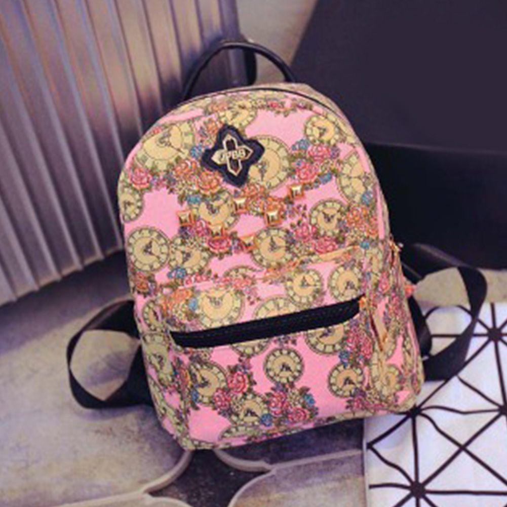 f55d90f5ddc5 Wholesale-Fashion NEW Canvas Travel Rucksack Hobo School Bag Satchel ...