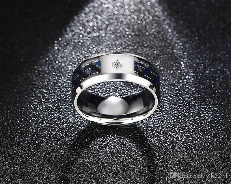Grosshandel Mode Schwarze Manner Ringe Edelstahl Freimaurer Ringe