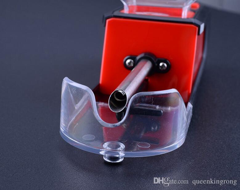 Sigarette nuova elettrica di tabacco di rotolamento a rulli iniettore automatico della macchina dell'iniettore fai da te Strumenti Maker fabbricazione di sigarette macchina Accessori