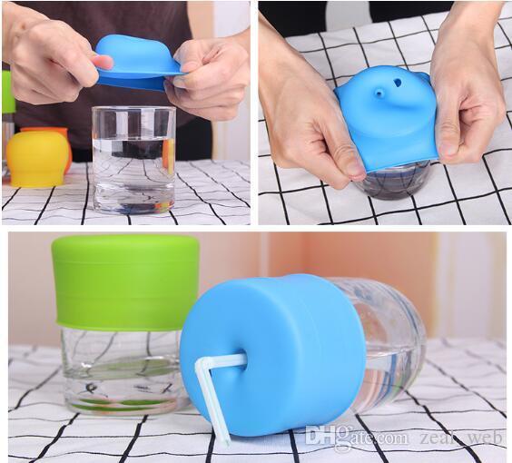 2020 neue Silikon Sippy Deckel Nippel Deckel für jede mögliche Größe für Kinder Becher Kleinkinder Leakage Cup für Kinder und Kleinkinder BPA frei