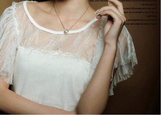 Drop Ship 18K Gold Plated Austrian Crystal Necklace Bracelet Earrings Jewelry Set for Women Ladies Female Wedding Jewelry