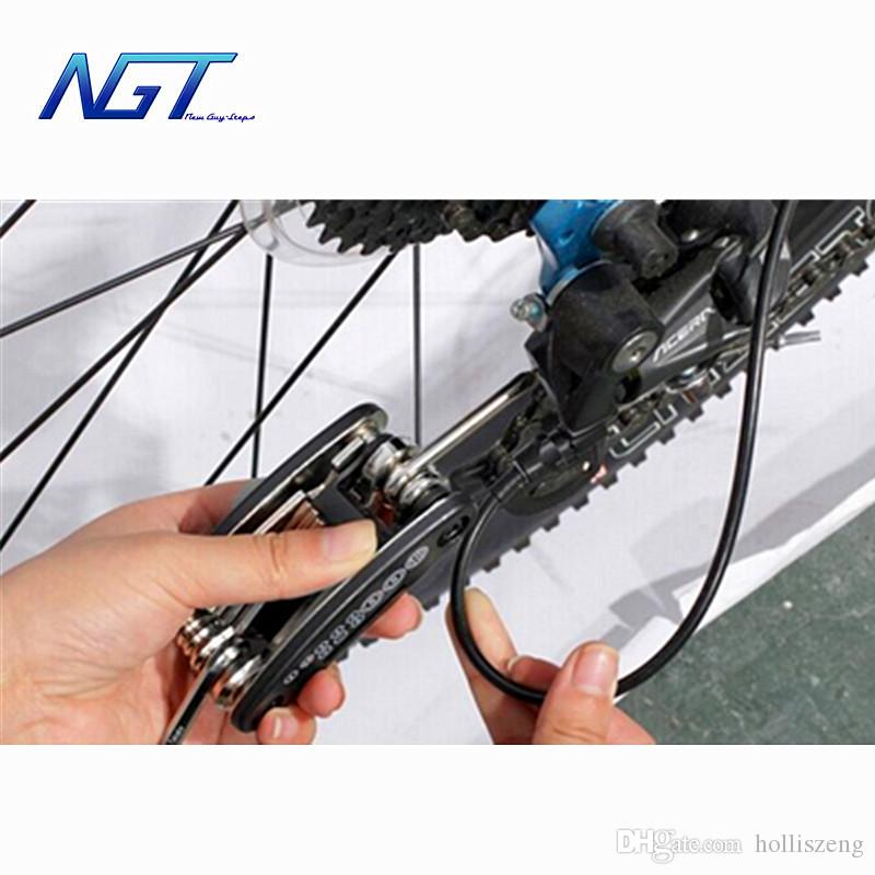 Hot 15 in mountain Bicycle Tools Sets Bike Bicycle Multi Repair Tool Kit Hex Spoke Wrench Mountain Cycle Screwdriver Tool