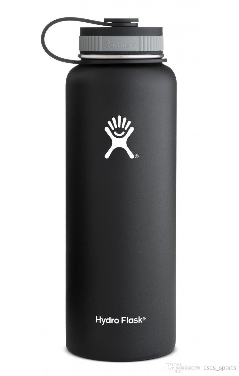 Großhandel Hydro Flask 18 Oz Flache Kappe Wasserflasche Vakuum ...