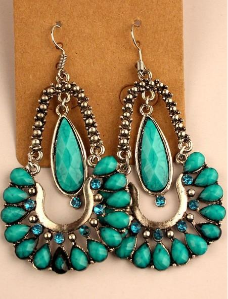 Vintage Dangle Earrings Womens 보헤미안 혼합 스타일 Retro National Style Retail Choice 귀걸이 후크 귀걸이