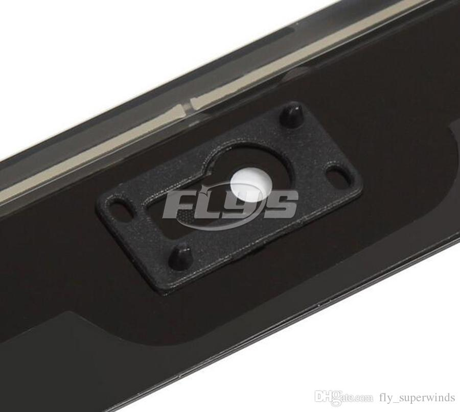 iPad mini 1 mini 2 미니 3 터치 디지타이저 화면 홈 버튼 플렉스 케이블 및 접착제 포함 무료 배송 DHL