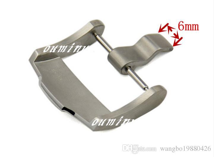 Spedizione gratuita 24 mm Cinturino nuovo acciaio spazzolato Cinturino fibbia cinturino cinturino AP Watch