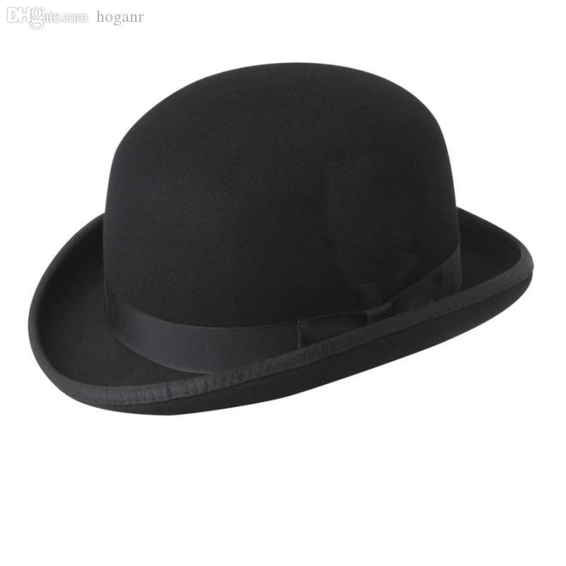 82443afabb870 Compre Al Por Mayor Bailey Ofhollywood Moda 100% Lana De Los Hombres De Las  Mujeres Fedora Sombrero Crushable Hantom Lr Amir Khan Bowler Hat De Lujo ...