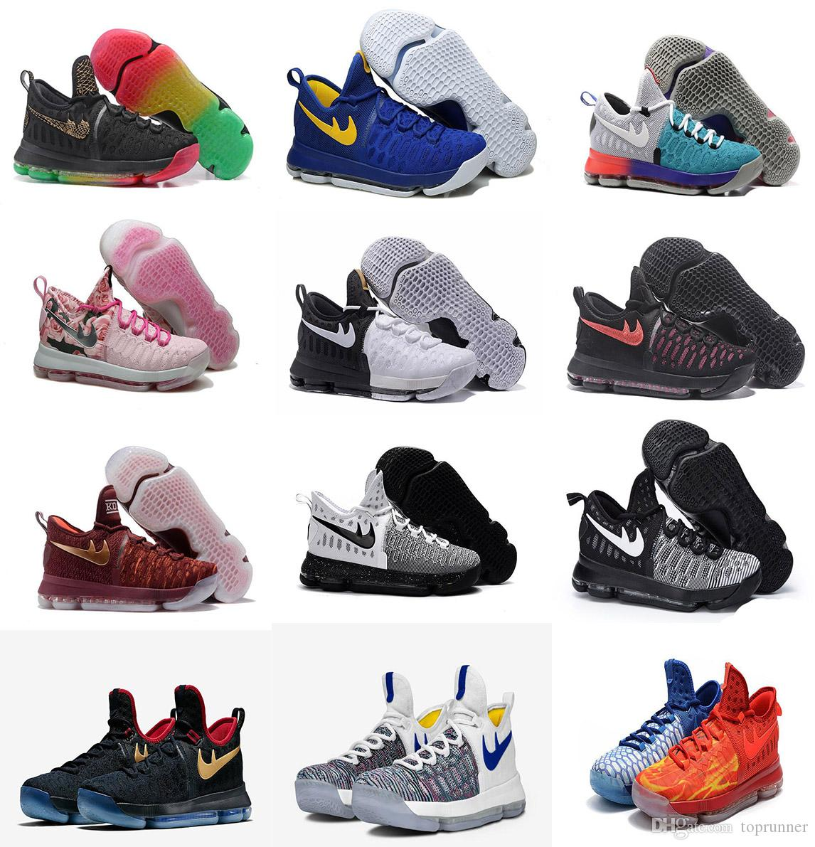 95176a56a792 4a61d 3d4ba  italy kd 9 aunt pearl black hot punch shoes for sale kevin  durant basketball shoes basketball