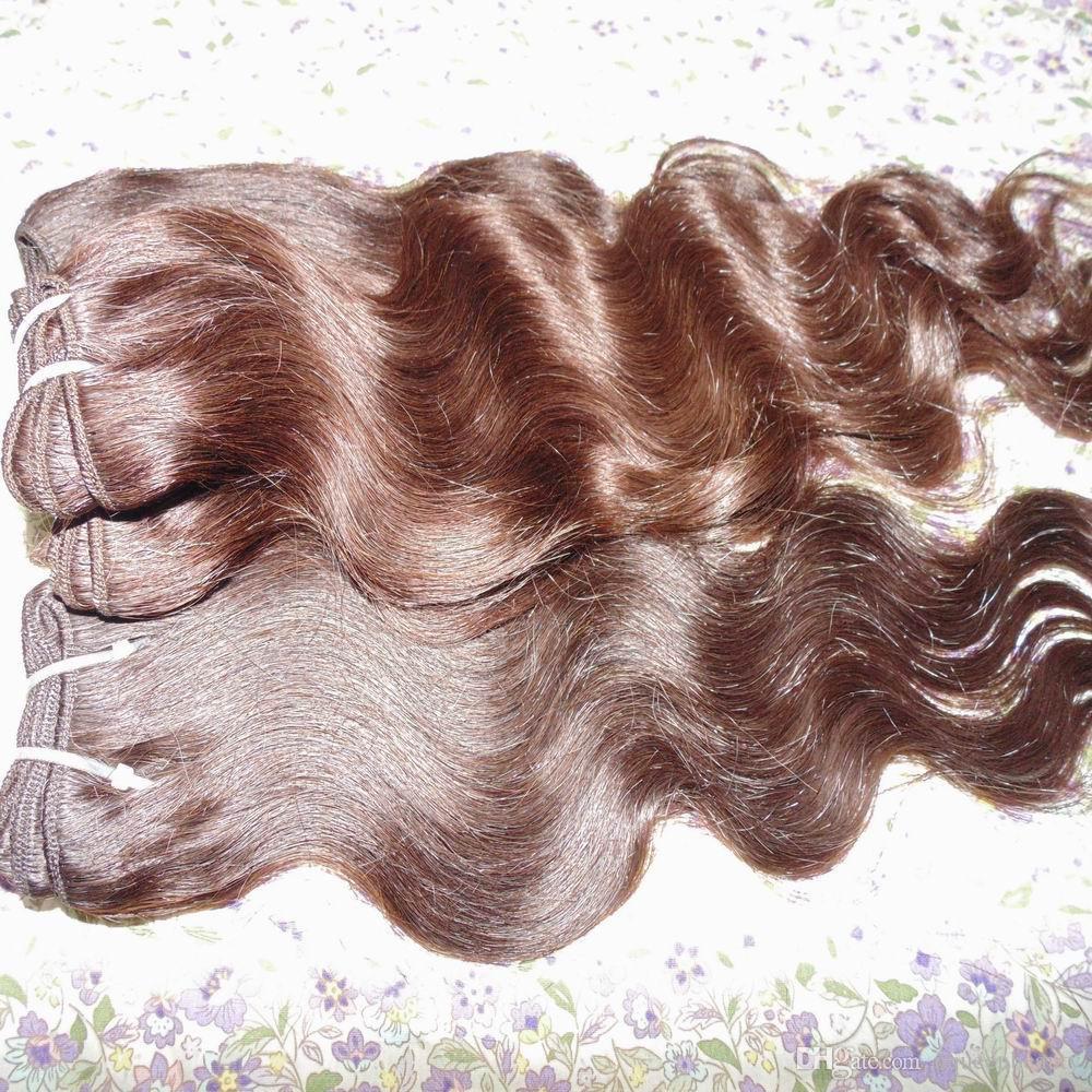 Niedriger Preis des preiswertesten Haares 5bundles / Körperwelle peruanisches verarbeitetes Menschenhaar spinnt farbige Schüsse